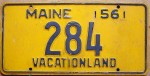"Maine is known as ""The Vacation State."""
