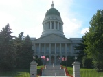 The state capitol building in Augusta, Maine